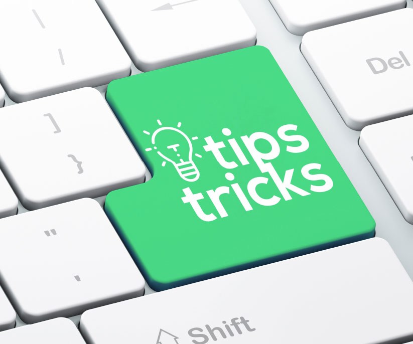 tips and tricks button in keyboard